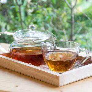 Iti recomandam sa  consumi ceai verde.