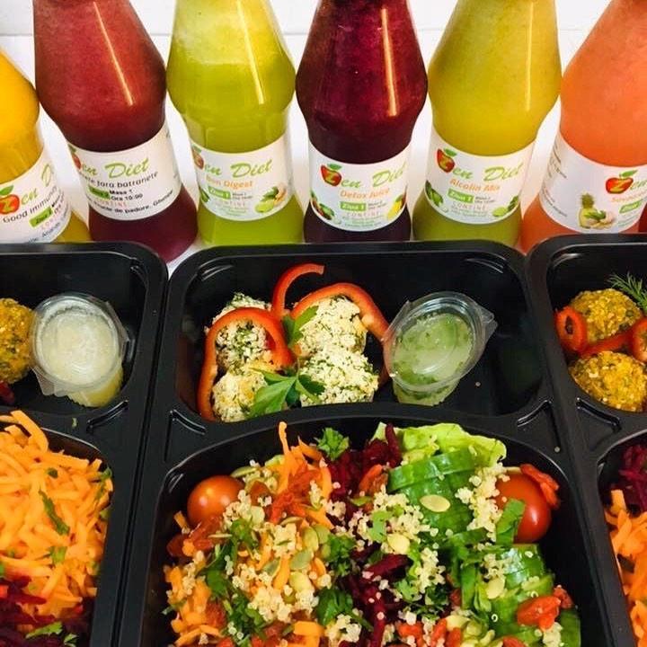 ZenDiet - Mâncare dietetică proaspătă pentru detoxifiere sau slăbire 2